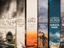 George RR Martin signs interactive Game of Thrones deal with Apple