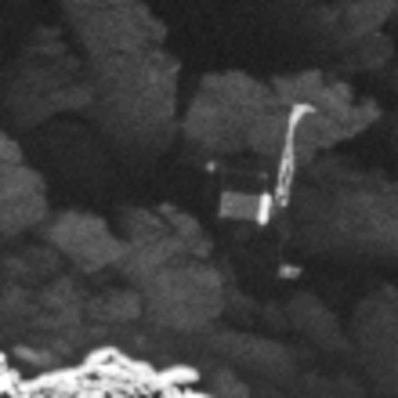 Philae lander close-up