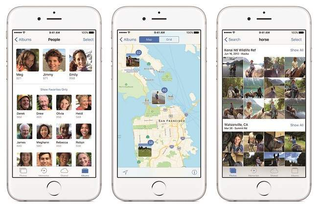 Photos iOS 10