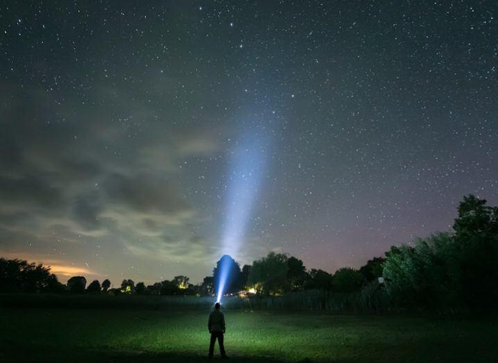 Radio signals in space