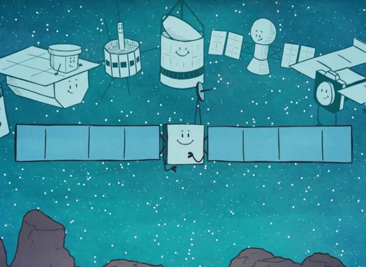 Rosetta ending cartoon