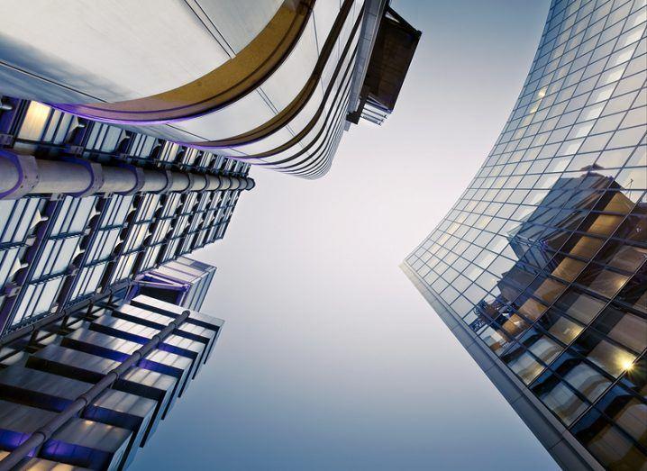 Blockchain: London skyscrapers