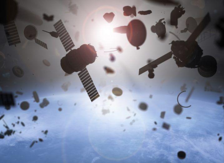 Carbon nanotubes space debris