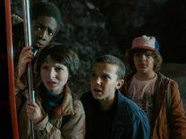 Stranger Things had you hooked by episode three, says Netflix