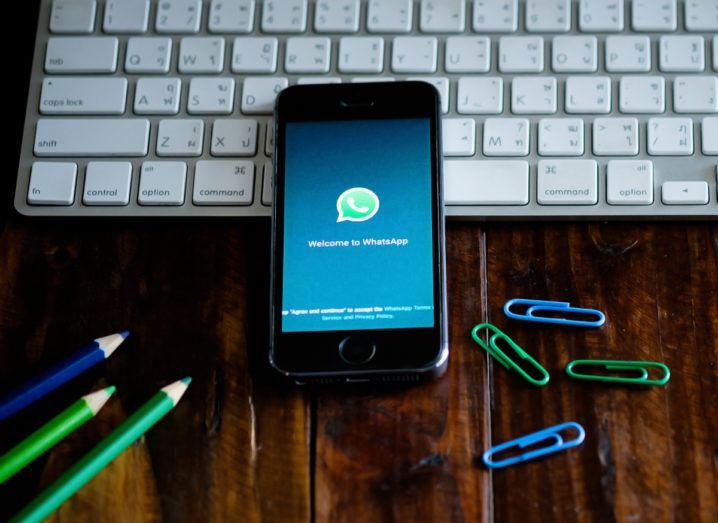 WhatsApp. Image via qoppi/Shutterstock