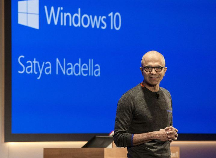 Windows CEO Satya Nadella. Image: Wikimedia Commons