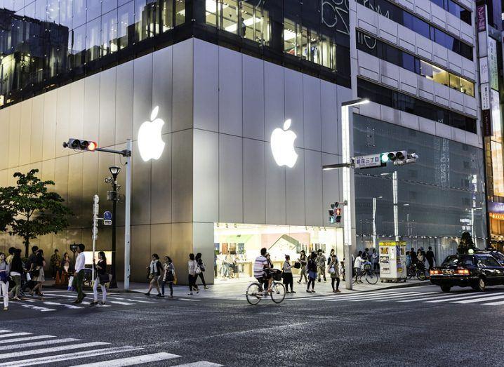 Apple store in Tokyo, Japan