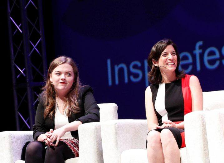 Edel Browne and Mary Carty, Inspirefest