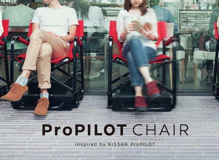 Nissan reveals self-driving chair for people too lazy to queue
