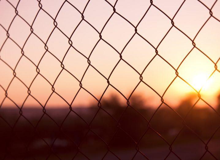 Geo-blocking: chainlink fence