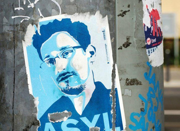 Edward Snowden on Allo
