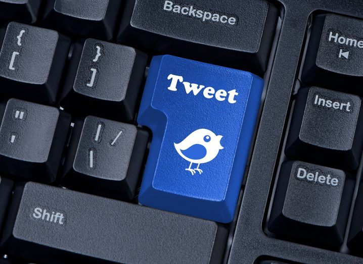 140 characters: Tweet button