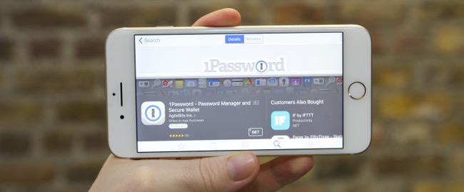 1Password iPhone 7 Plus