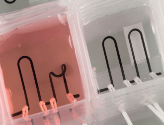 Researchers 3D print first data harvesting heart on a chip