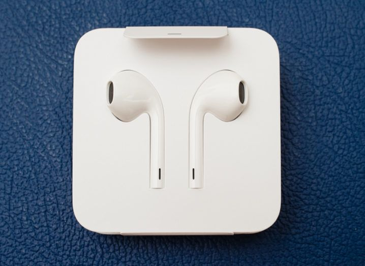 AirPod headphones