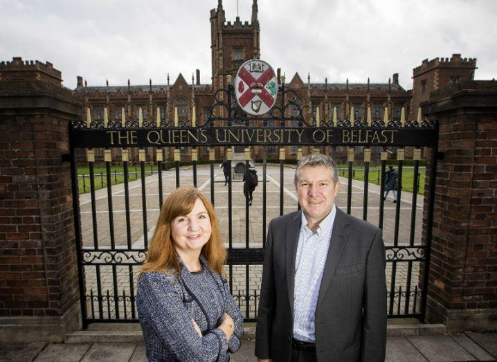 £500k investment in Queen's University Belfast spin-out Causeway Sensors