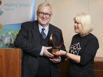 Irish mathematician Des MacHale honoured with Maths Week award