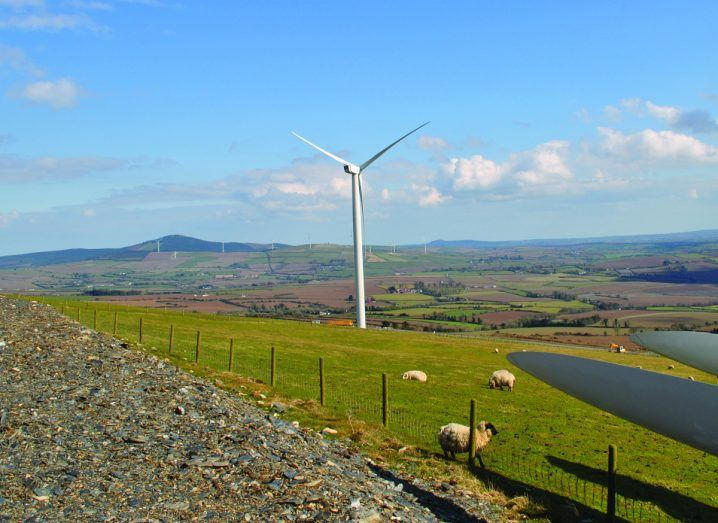 Gibbet Hill Windfarm in Co. Wexford
