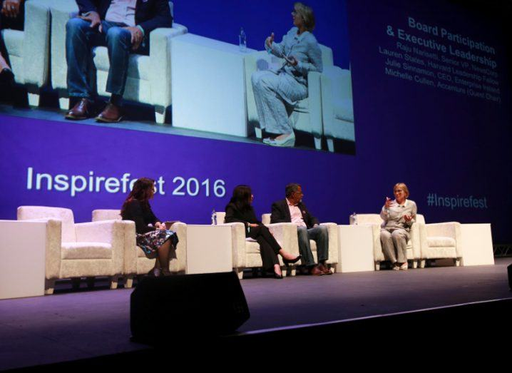 Without more females on boards businesses will flounder, Inspirefest 2016 panel