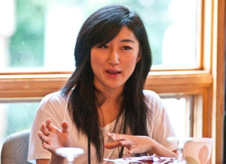 Jess Lee, co-founder of Polyvore and now investment partner with Sequoia Capital. Image: Fortune Live Media/CC BY-ND 2.0/Flickr
