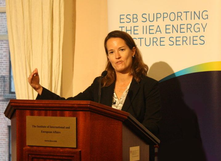 Julia Hamm, CEO of the Smart Electric Power Alliance