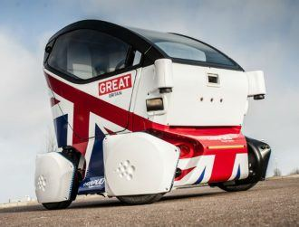 UK's first driverless car hits the road