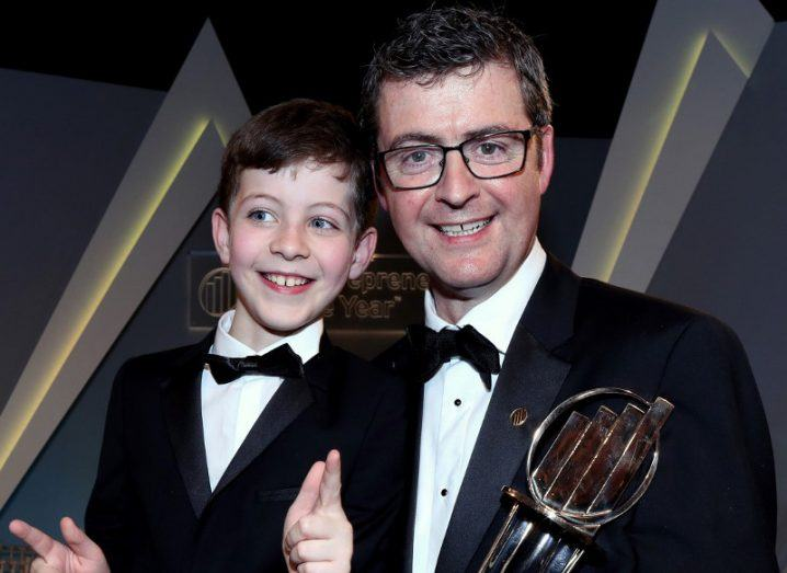 Brendan Mooney of Belfast's Kainos named Entrepreneur of the Year