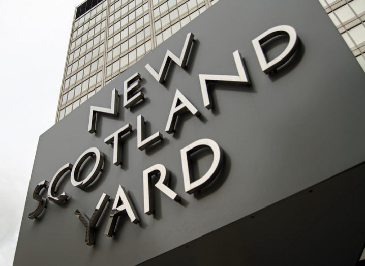 Encryption terrorism New Scotland Yard