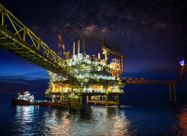 IIoT oil rig