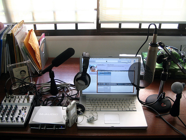 Podcast studio 2006