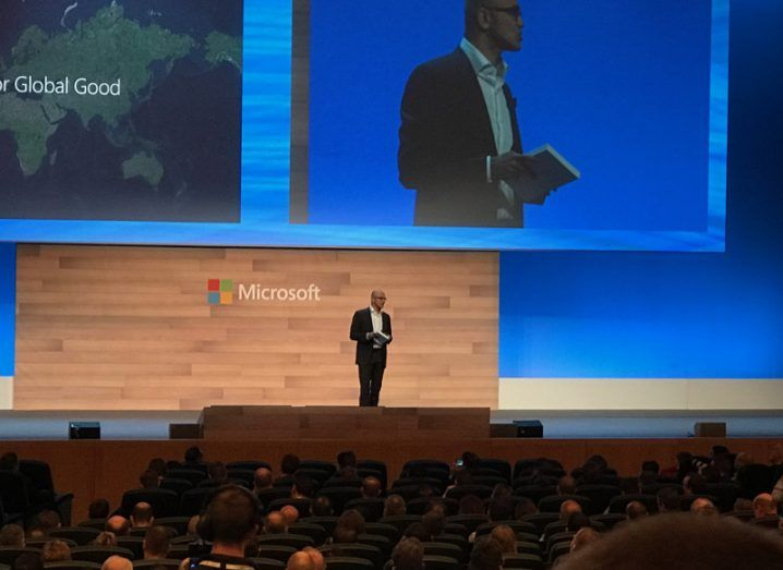 DRAFT Microsoft Reaches $3B Cloud Investment in Europe; Satya Nadella Comments