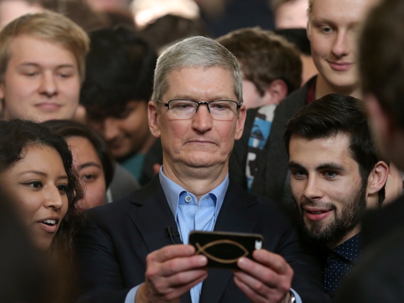 Tech sector will have to embrace regulation, warns Apple CEO