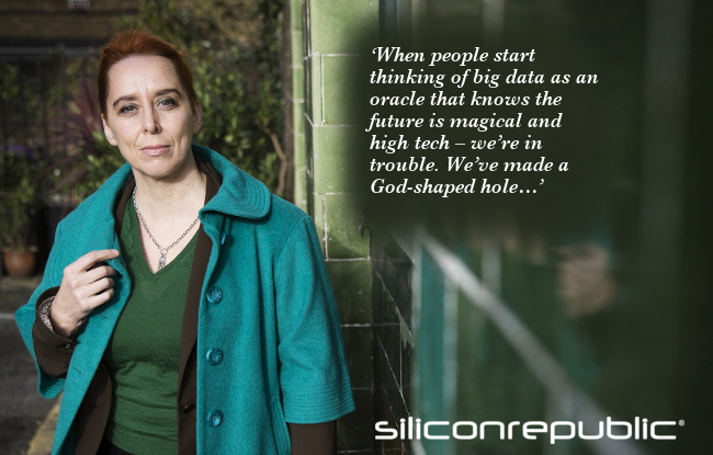 Timandra Harkness is a comedian, author and presenter fascinated with big data. Image: Timandra Harkness