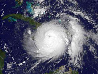 Footage shows 230kph Hurricane Matthew battering Haiti