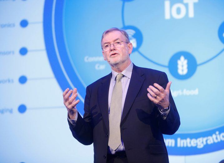 Dr Kieran Drain discusses the internet of things at Tyndall Tech Days 2016