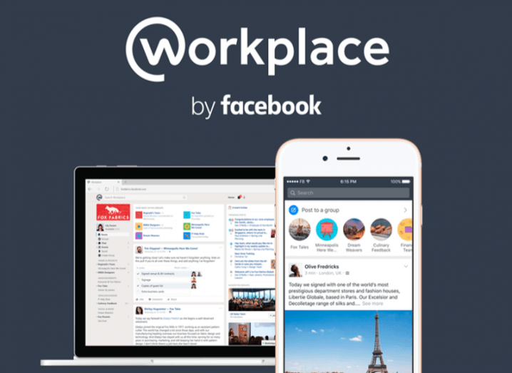 Facebook reveals its new email and Slack killer Workplace