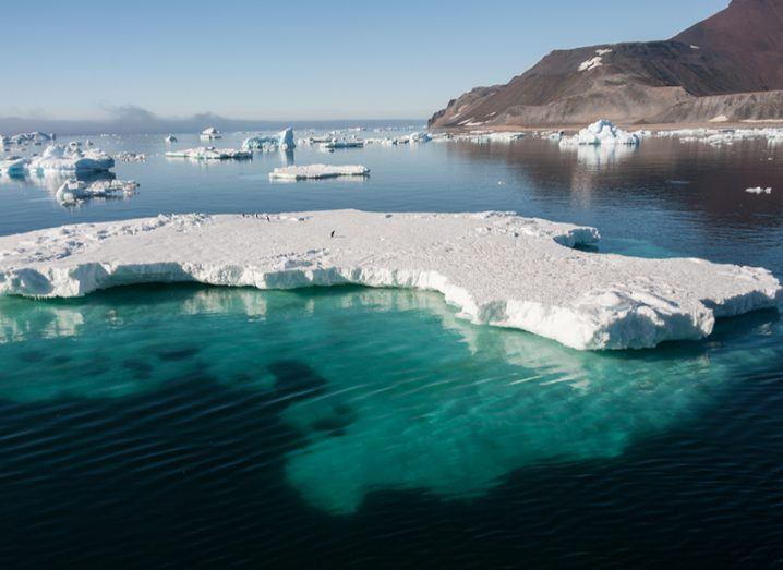 Climate change Arctic ice