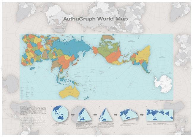 Autagrpah map