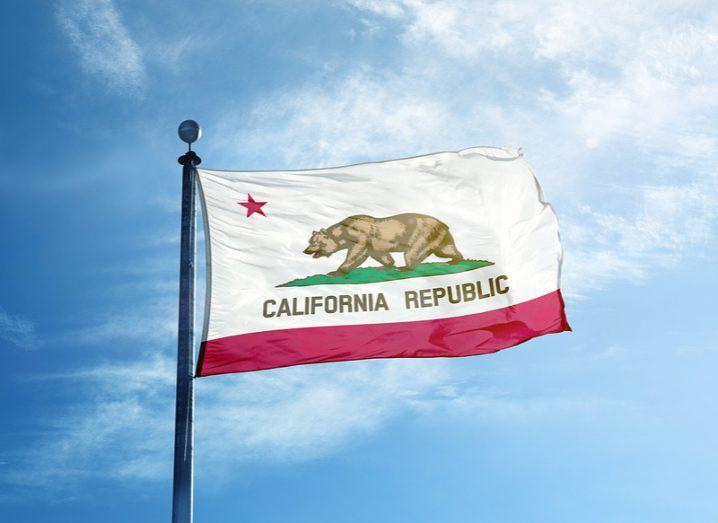 Silicon Valley California flag