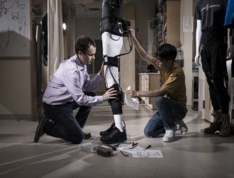 Irishman's soft robotics exosuit wins major tech award