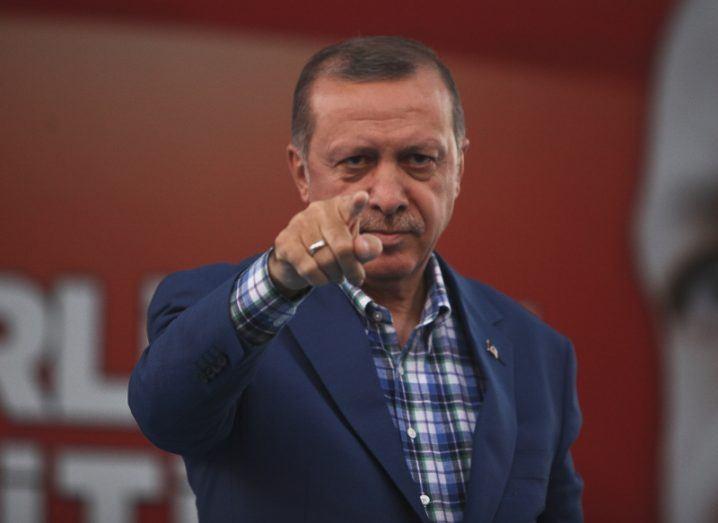Turkey president Recep Tayyip Erdogan. Image: kafeinkolik/Shutterstock