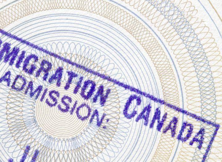 Donald Trump Canada immigration website
