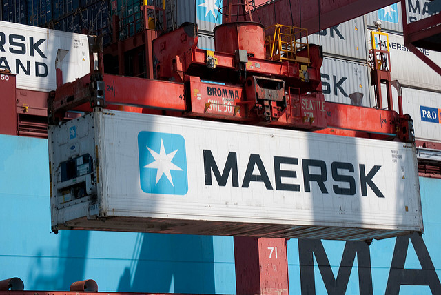 Maersk Line reefer container