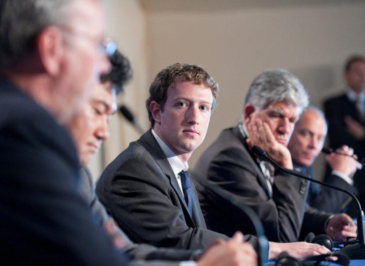 Fake news Mark Zuckerberg