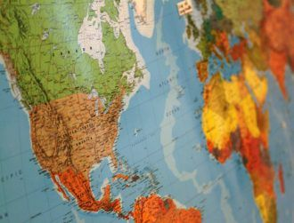 New origami world map turns cartography on its head