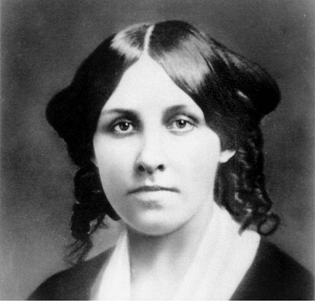 Little Women Google doodle dedicated to Louisa May Alcott