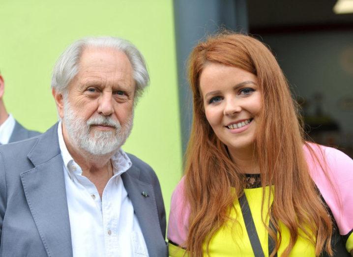 Gráinne Dwyer and David Puttnam, National Digital Week