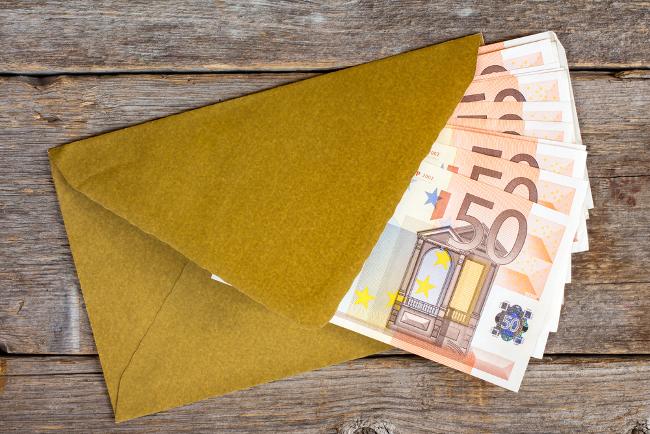 Prize envelope