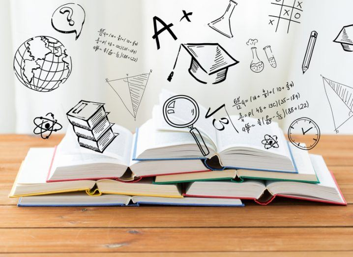 Maths: books and doodles