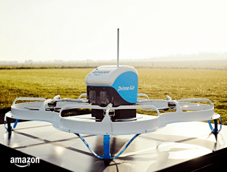 Amazon releases video of first autonomous drone delivery in the UK